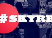 SkyRec transforme hashtag bouton d'enregistrement