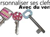 décorer clefs avec vernis Ongles