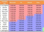 Pour rien rater L'#E3 2013 (les horaires conférences)