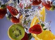 Surprend foie, bois l'eau fruits* [défi lundi]
