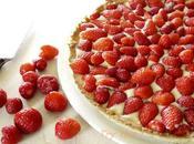 Tarte fraises sans produits laitiers