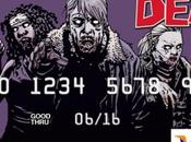 cartes crédits Walking Dead