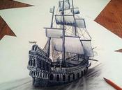 incroyables dessins crayon Ramon Bruin