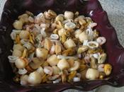 Gratin fruits sauce corail