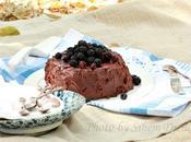 gâteau Choco-noisettes plein air.