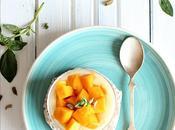 "verrines mangue saveurs ""basilic, cardamome"""