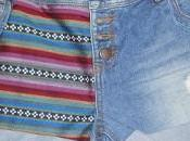 Customisation short jean navajo