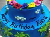 Commande gâteau d'anniversaire