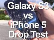Apple iPhone Marteau Drop Knife Test grattage