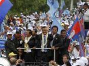 Cambodgiens urnes dimanche