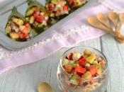 Tartare saumon, chou cabus fraises cornets...IG (Battle Food #10)