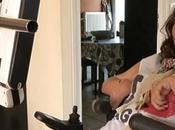 jeune handicapée privée Réunion Corsair