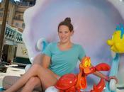 Camille Muffat petite sirène Disneyland Paris