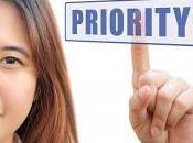 S'organiser avec matrice actions prioritaires