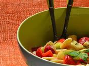 Salade Fruits frais sirop menthe