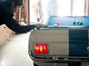 DECO Mustang fait table billard