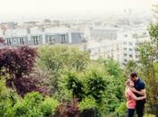Photographe couple Paris Charlotte & Matthieu Montmartre
