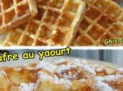 Gaufres yaourt
