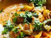 Curry, wraps plats sauce recettes semaine (S39/2013)
