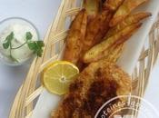 Fish chips sauce tartare {recette allégée}