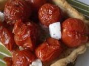 Tarte tomates, pesto mozzarella