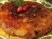 Gateau cerises pommes allégé cuit poële
