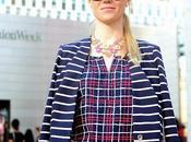 Goodbye Fashion Week Stripes Glitter