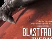 cratères suspectés d'être super-volcans Mars