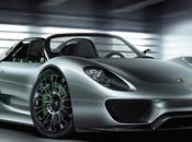 Porsche Spyder dans moindres détails