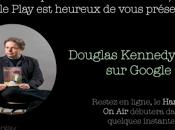 Interview Douglas Kennedy (Cinq jours Belfond) Google Hangouts première Europe.