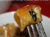 Gnocchi potimarron parmesan, crème, basilic jambon cru!