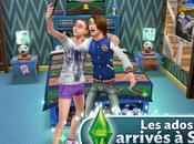 Sims gratuit iPhone, adolescents sont arrivés Simville...