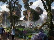 Avatar concept l'attraction Disney