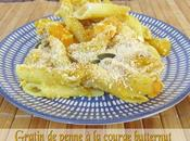 Gratin penne courge butternut