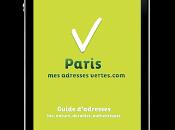 Avec Paris adresses vertes, tous lieux bioté pocket