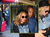 PHOTOS Beyoncé Jay-Z dîné Paris hier soir restaurant Petite Maison Nicole