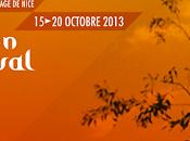 Evénement octobre 2013, rendez-vous Nice pour festival c'est trop court