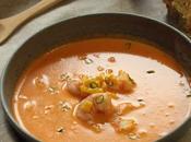 Tabasco pimente cuisine bisque crevettes pain maïs