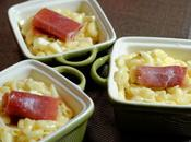 Risotto coquillettes, pommes camembert