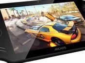 Test tablette tactile console jeux Archos GamePad sous Android