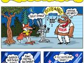 Fable renard lapin planche