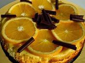 Cheesecake orange chocolat