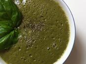 Aujourd'hui, j'ai testé potage brocoli-basilic