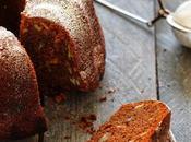 "Cake courge /chocolat écorces d'orange noix pécan, pumpkin chocolat bundt cake"""