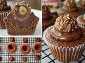 Cupcakes Nutella ferrero