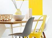 Couleurs inspirations: jaune.
