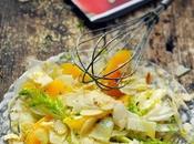 Qu'est-ce qu'on mange soir m'apportait quoi faire repas pied cuisine petite salade fenouil l'orange parmesan…