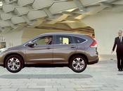 Illusion d'optique: Honda CR-V l'impossible devient possible