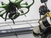 Allemagne drones fait show salon Intergeo