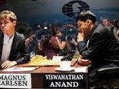 Echecs Carlsen bute Anand